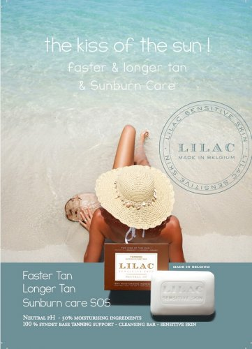 LILAC Tanning Support Cleansig Bar